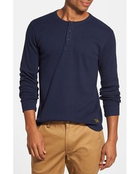 Obey Elms Thermal Henley