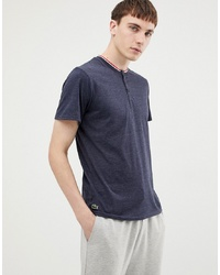 Lacoste Henley T Shirt In Regular Fit