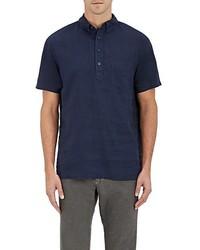 Onia Josh Linen Henley Shirt