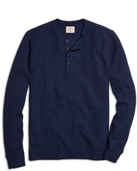 Brooks Brothers Long Sleeve Henley Shirt