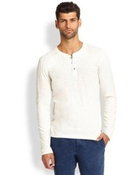 Madison Supply Slub Henley Shirt Where To Buy How To Wear