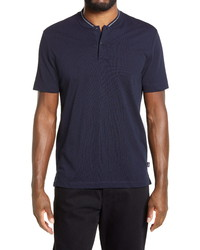 BOSS Pratt Slim Fit Blade Collar Polo