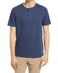 Theory Regular Fit Slub Henley T Shirt
