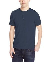 Navy Henley Shirt