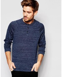 Esprit Knitted Henley Sweater