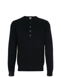 Kent & Curwen Long Sleeved Button Up Sweatshirt