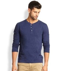 Madison Supply Slub Henley Shirt