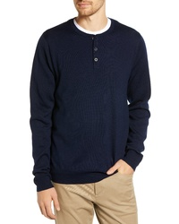 Nordstrom Men's Shop Regular Fit Wool Blend Henley Sweater