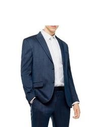Topman Slim Fit Herringbone Suit Jacket