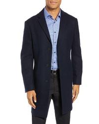 John W. Nordstrom Mason Herringbone Wool Cashmere Overcoat