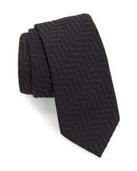 Emporio Armani Herringbone Tie