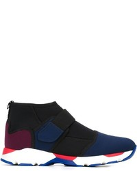 Marni Velcro Fastening Hi Top Sneakers