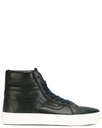 13aecfe29cafcf Men s Navy High Top Sneakers by Vans