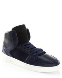 Versace Stylish High Top Sneakers