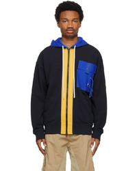Moncler Genius 1 Moncler Jw Anderson Navy Zip Up Jacket