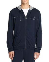 Hugo Boss Boss Cotton Zip Up Hoodie
