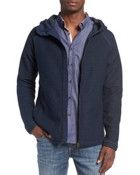 Forecourt hooded zip sweater medium 801108