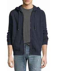Frame French Terry Zip Up Hoodie