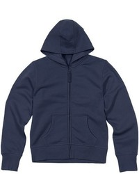Marks and Spencer Girls Cotton Rich Hooded Sweatshirt