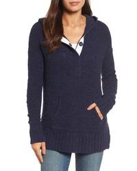 Caslon Hooded Knit Sweater