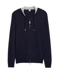 Eleventy Hooded Merino Sweater