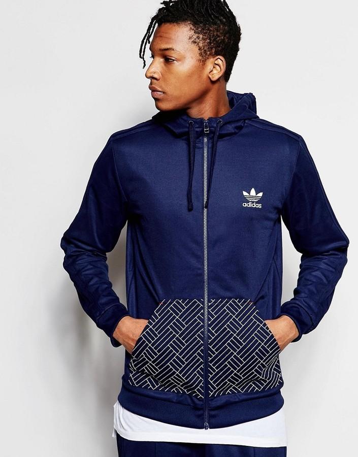 ... adidas Originals Budo Zip Hoodie Az6363 ... e52a7713d