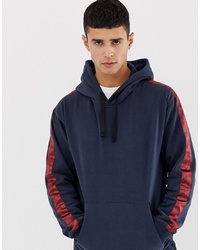 Jack & Jones Originals Hoodie With Sleeve Stripe