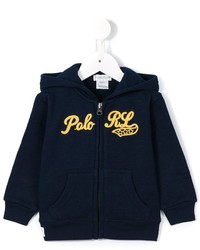 Ralph Lauren Kids Logo Embroidered Hoodie