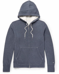 rag & bone Standard Issue Loopback Cotton Jersey Hoodie