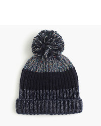 J.Crew Italian Wool Blend Striped Hat