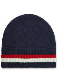 Thom Browne Striped Shetland Wool Beanie