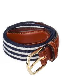 American apparel striped web belt medium 234890
