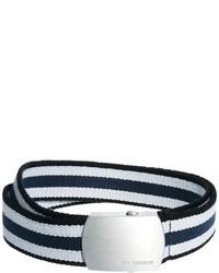 Ben Sherman Webbing Belt Blue