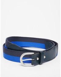 Lyle & Scott Stripe Webbing Belt