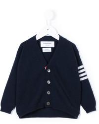 925975cd Boys' Navy Cardigan, Navy Print T-shirt, Charcoal Sweatpants ...