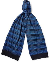 Missoni Striped Cotton Scarf