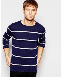 Esprit Knitted Sweater With Stripes