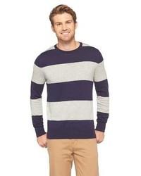 Merona Striped Crew Neck Sweater