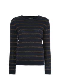 Loveless Striped Lurex Sweater