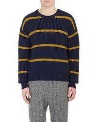 Tomorrowland Varsity Sweater Navy Size Na