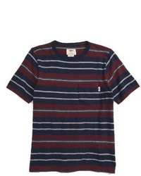 Boys barrington stripe t shirt medium 1044092