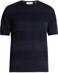 TOMORROWLAND Contrast Stripe Cotton T Shirt