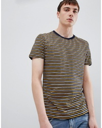 Selected Homme Fine Stripe T Shirt