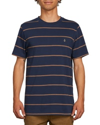 Volcom Joben Striped T Shirt