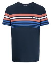 Michael Kors Michl Kors Sunshine Stripe Printed T Shirt