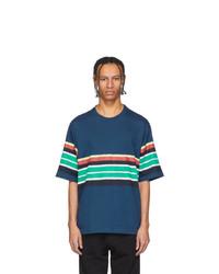 Kenzo Navy Striped T Shirt