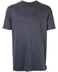 Emporio Armani Printed Straight Fit T Shirt