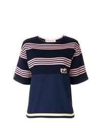 Marni Striped Design T Shirt