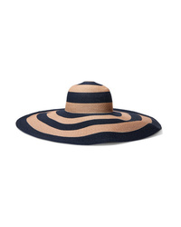 Eugenia Kim Sunny Striped Paper Blend Sunhat