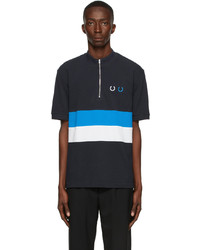Comme des Garcons Homme Deux Fred Perry Edition Logo Polo